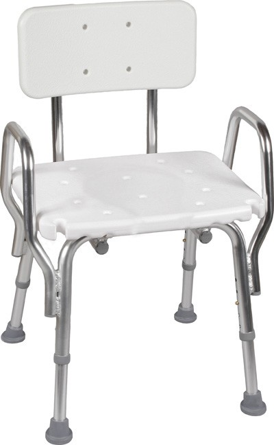 Shower Chair with Backrest : Shower - 31.0KB