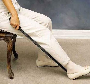 Good Grips Long Handle Shoe Horn. Daily Living Aids   Handicap Equipment   Assistive Devices