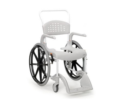Etac Clean 24 Inch Shower Commode Chair Shower Commode