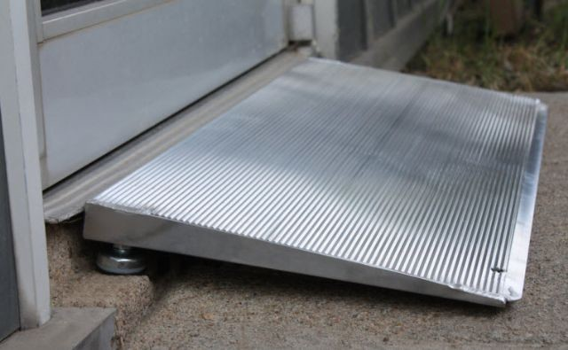 Plastic Threshold Wheelchair Ramp From Bighorn