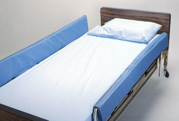 Skil Care Cushion Top Vinyl Bed Rail Pads Hospital Bed