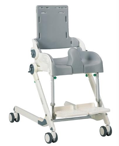 Snug Seat Flamingo Tiltable Bathing Toilet Chair. Toileting Aids   Handicap Bathroom Accessories   Splash Guard