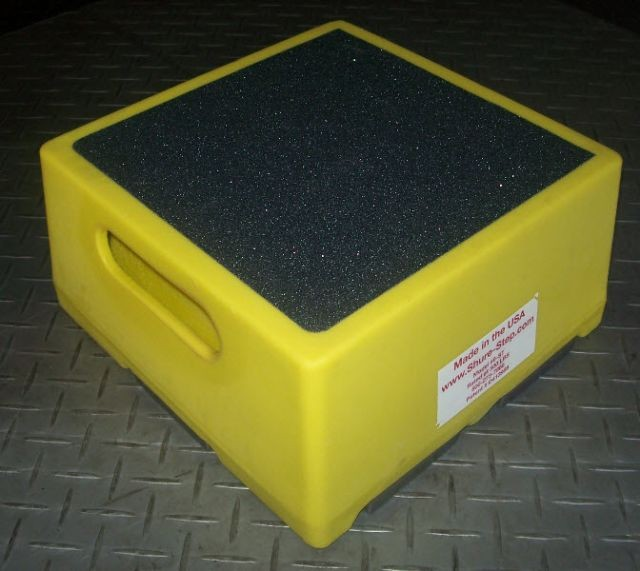 Shure Step Square Safe Step Stool Shure Step Safe Step