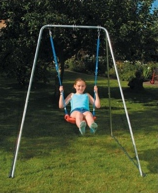 indoor outdoor foldaway swing frame