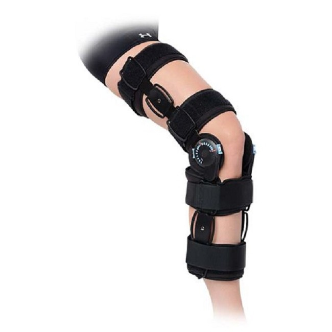 Hinged Knee Brace : Advanced hinged knee brace