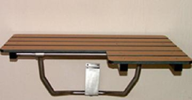 Wall Mounted ADA Compliant Shower Bench - FREE Shipping