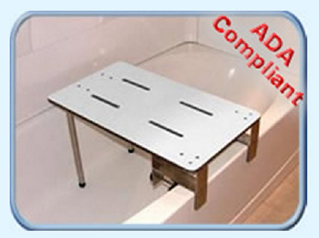 Compliant Portable Clamp-On Tub Seat