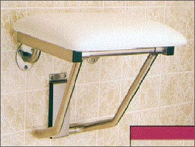 Small Wall Mounted Shower Transfer Bench