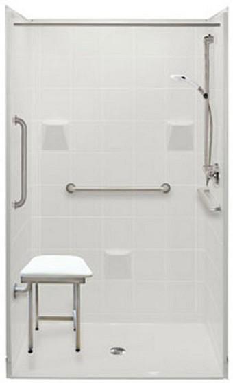 Wheelchair accessible bathroom handicap accessible for How to build a wheelchair accessible shower