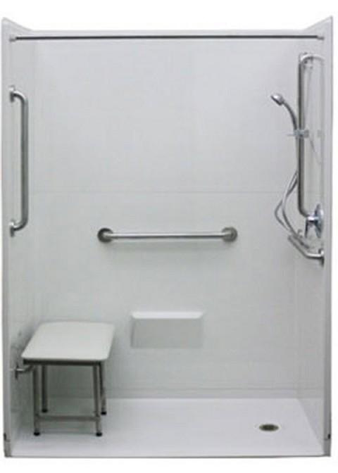 Non Handicap shower