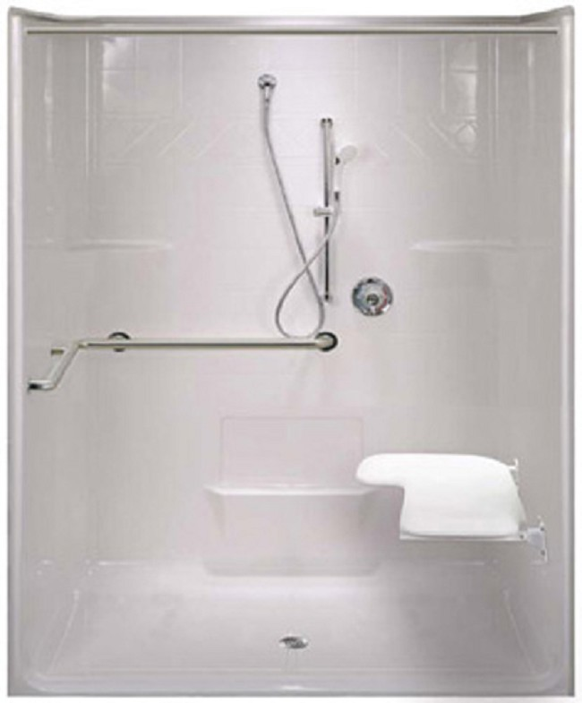 Roll In 63 Quot X 38 5 Quot Ada Shower Stall