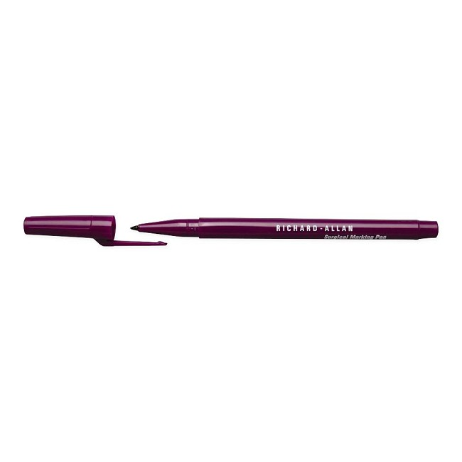 Richard-Allan Regular Tip Surgical Skin Markers with Rulers (NEW: Open Box)