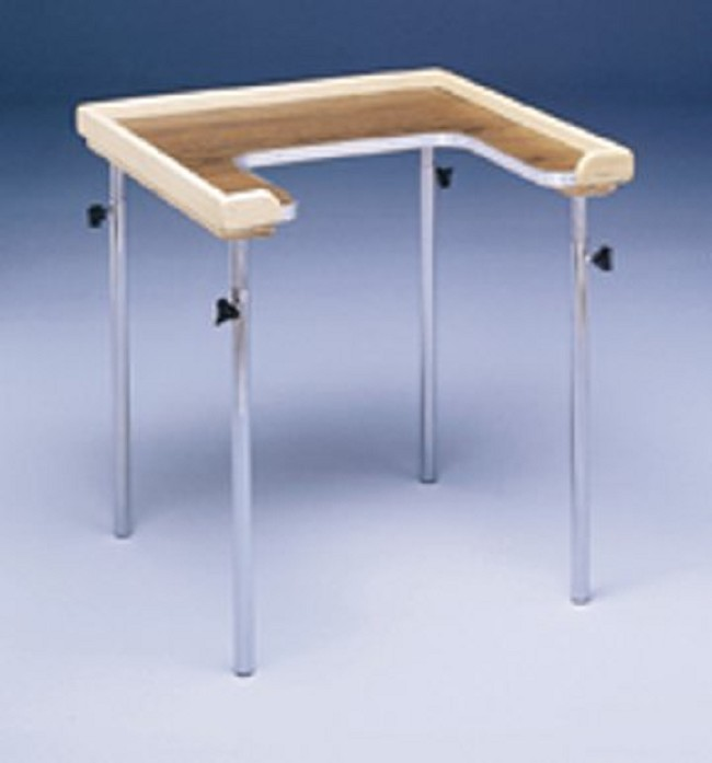 Bailey Adjustable Height Individual Cut Out Work Table