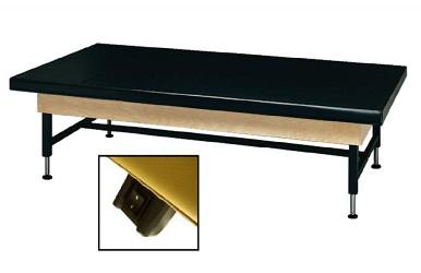 Dynatronics Economy Hardwood Medium Density Foam Mat Table