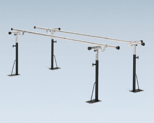 Bailey Floor Mounted Parallel Bars - FREE Shipping
