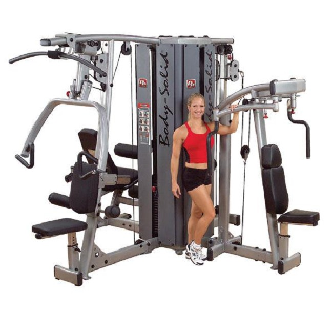 Body solid pro dual stack gym frame free shipping