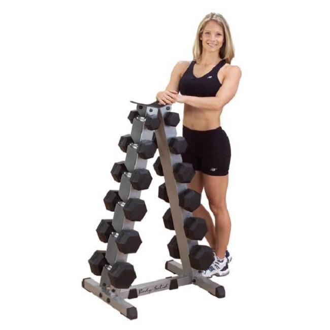 Dumbbell Set Mr Price Sport: Body-Solid 2-Tier Vertical Dumbbell Rack