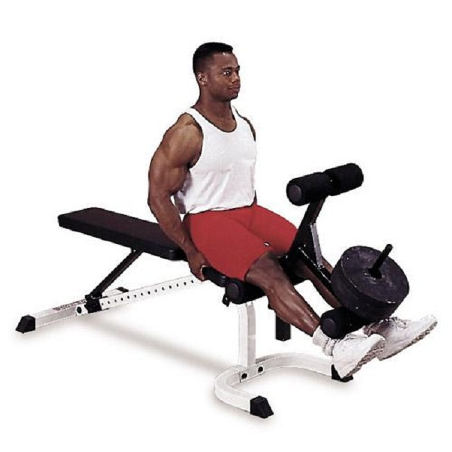 Leg Developer Station For Body Solid Flat Incline Decline Benches