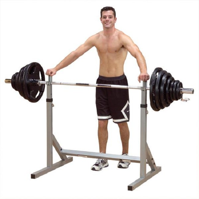 Body Solid Powerline Weight Equipment Squat Rack With Pull