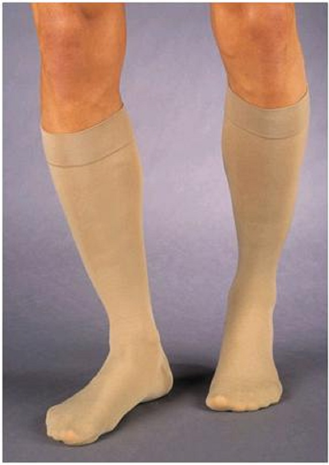 d28ce13bf Unisex compression knee highs relieve lower extremity swelling and pain