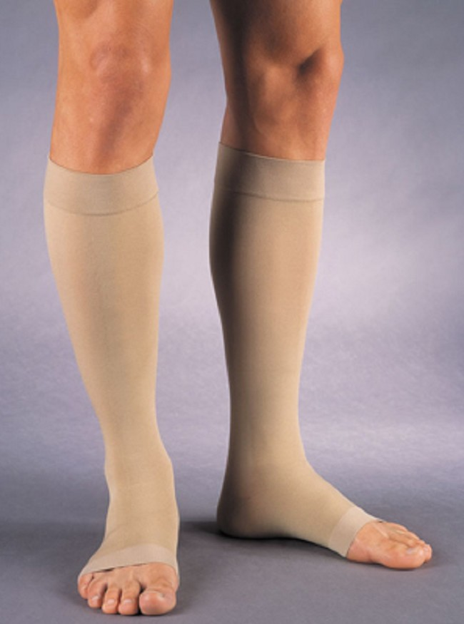 Jobst Relief Open Toe Knee High Moderate Compression Stockings