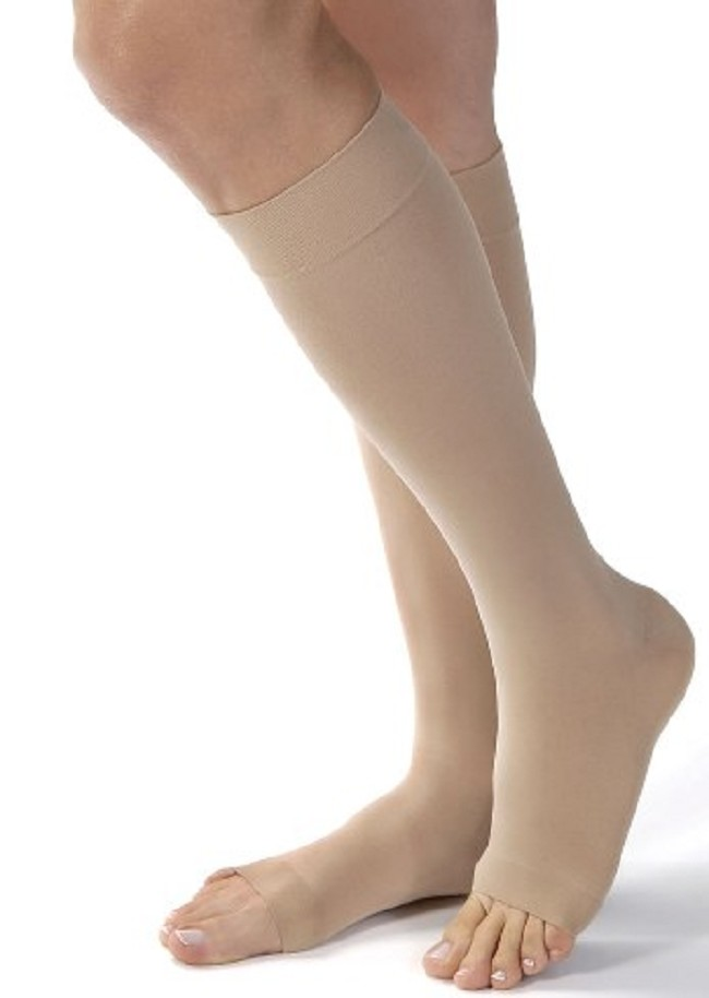 33a7151484 Super soft and fashionably opaque, these comfortable knee highs deliver  light gradient compression therapy to relieve minor swelling and pain.
