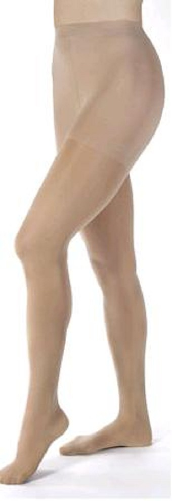 how to put on compression pantyhose