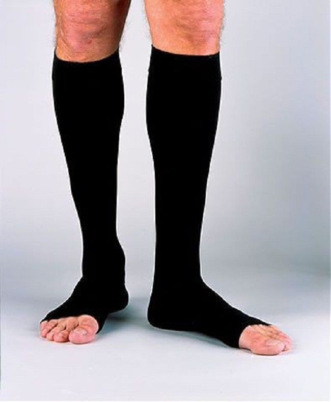 ca431e1234 Stylish men's compression socks relieve severe swelling in the legs and feet.  Soft and comfortable therapy for all-day wear.