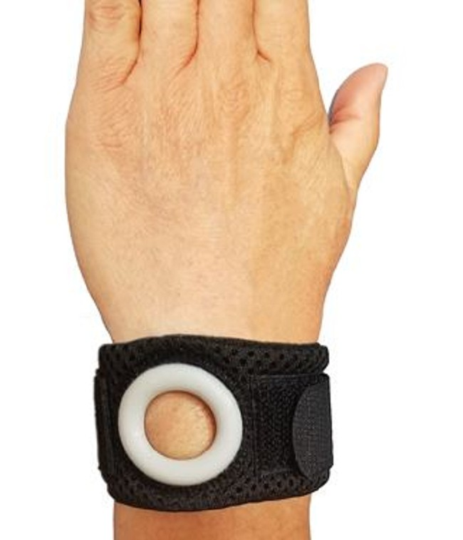 Bullseye Brace Wrist Band With Reinforced Ulnar Support