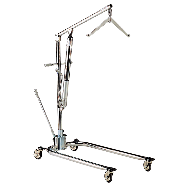 Manual Hydraulic Lift : Hoyer legacy chrome plated hydraulic manual lift