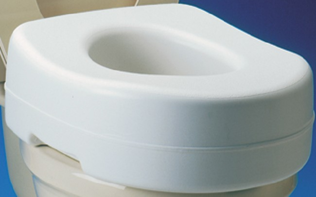 Peachy Raised Anti Slip Contoured Toilet Seat Machost Co Dining Chair Design Ideas Machostcouk
