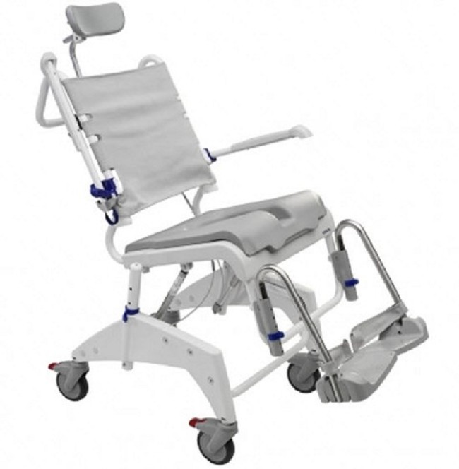 Aquatec Ocean Tilt In Space Shower Commode Chairs