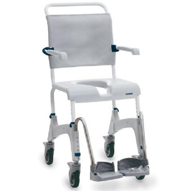 Aquatec Ocean Shower Commode Chair - FREE Shipping