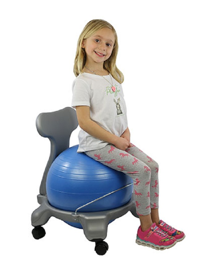Tremendous Plastic Exercise Ball Chair Base With Removable Backrest Home Interior And Landscaping Ponolsignezvosmurscom