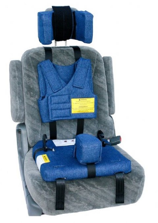 Churchill Pediatric Positioning Car Booster Seat With