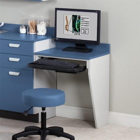 Wall Desk Computer Work Station Floating Desk On