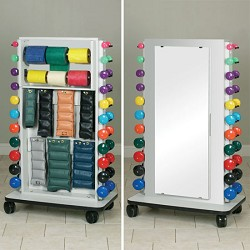 Vertical Dumbbell Wall Storage Rack Free Shipping