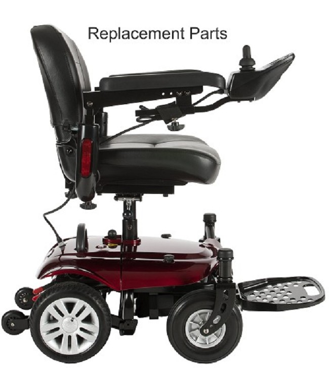 Drive Medical Replacement Parts for Cobalt Power Wheelchair