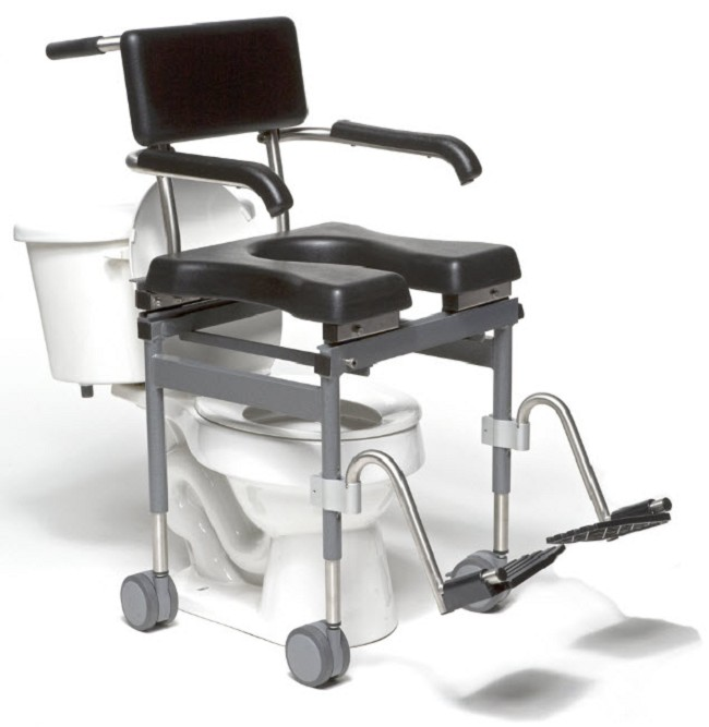 Versa Shower Commode Chair - FREE Shipping