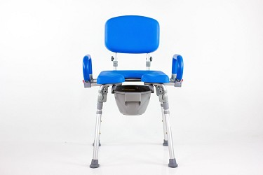 UltraCommode Shower Commode Chair by Platinum Health