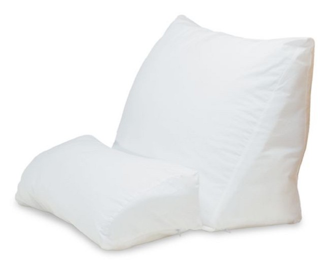 flip bed pillows pillow fourflip con positioning wedge multipurpose product