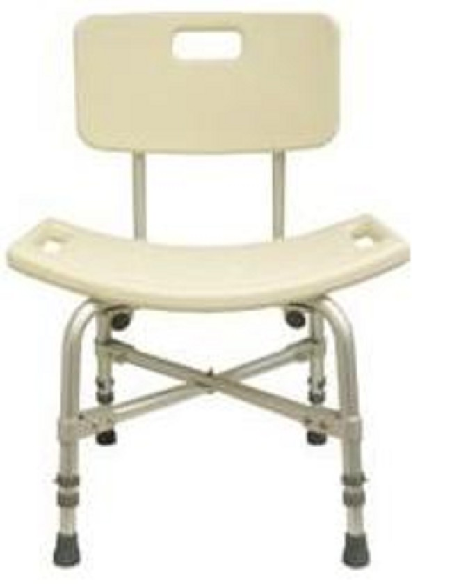 Bariatric Shower Stool with Back Support