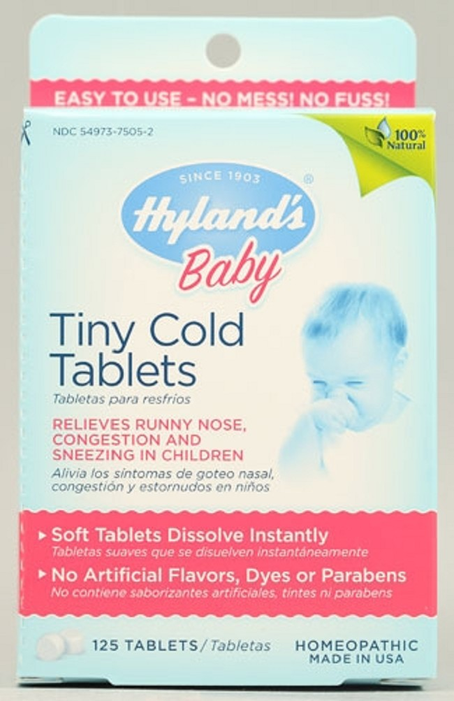 Hyland S Baby Tiny Cold Tablets Free Shipping