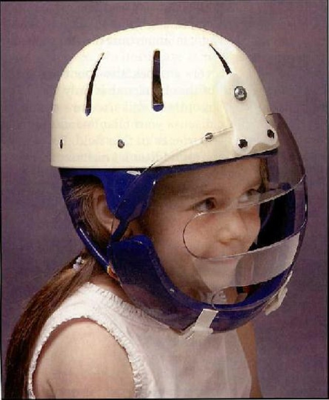 Danmar Hard Shell Helmet With Face Guard