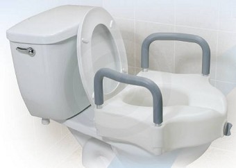 most comfortable toilet seat. Locking Elevated Toilet Seat with Arms Raised  Handicap