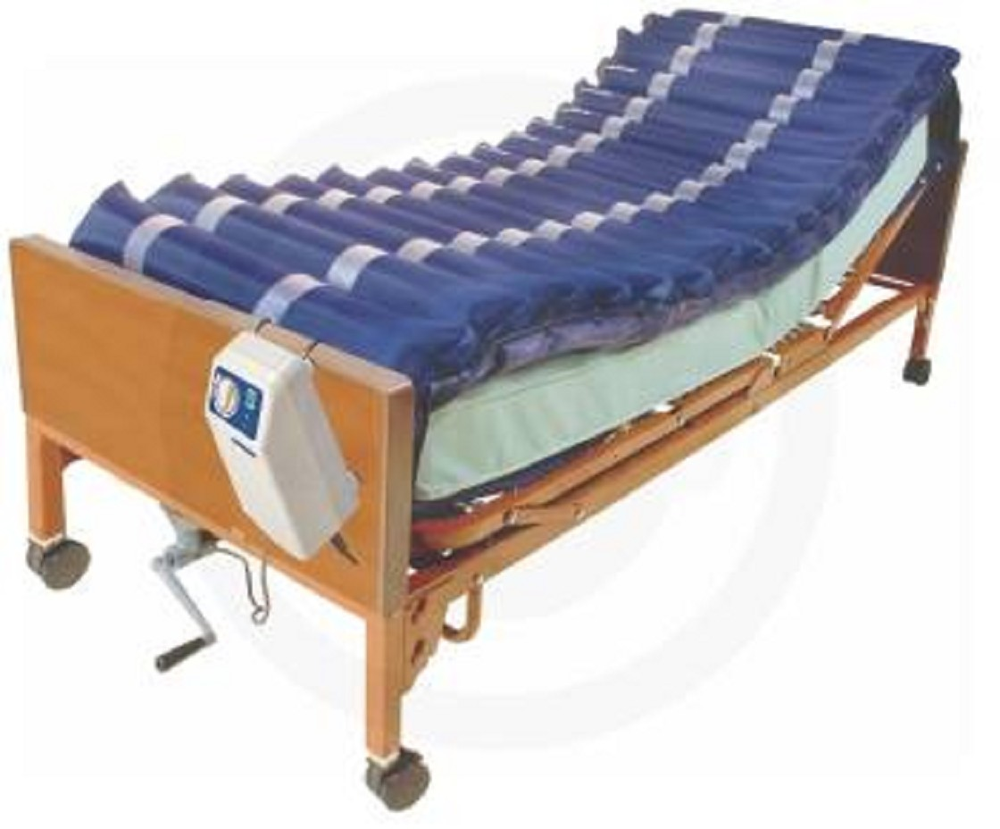 Water bed for patients - Med Aire Alternating Pressure Mattress Overlay System