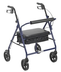 Bariatric Rollators Walker With Seat Rolling Walkers
