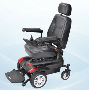 An Front Wheel Drive Power Wheelchair