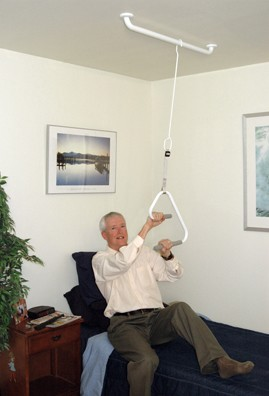 How To Use Hospital Bed Trapeze