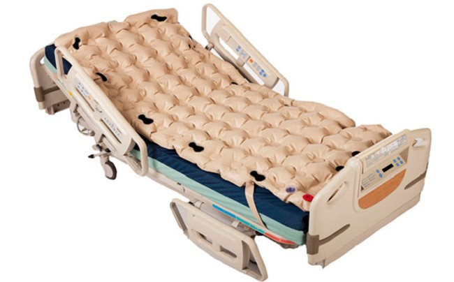 Waffle Econocare Plus Hospital Bed Overlay With Pump Case Of 6